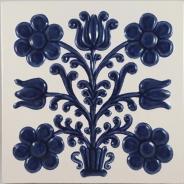 Decor ceramica pictat manual - model 1