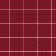 Mozaic culoare rubino, mat