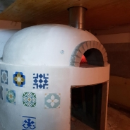 Cuptor profesional de pizza Forno d'Oro + placute Manolo Manufaktura